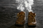smoke from empty boots