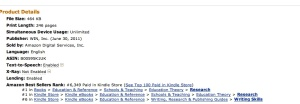 Screen shot March 24 2013 3 Amazon bestseller lists