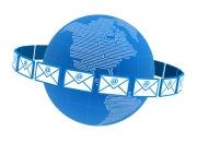 Virtual mail services forward scanned images of mail to you anywhere in the world