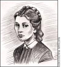 Possible sketch of Kate Warne, the first U.S. female PI