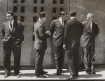 5 Men in Suits NY 1963 by Walker Evans Digital image courtesy of the Getty's Open Content Program