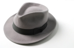 fedora black and white