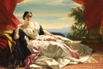Leonilla Princess of Sayn-Wittgenstein-Sayn 1843 Franz Xaver Winterhalter Digital image courtesy of the Getty's Open Content Program