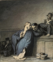 A Criminal Case 1865 by Honore Daumer, Digital image courtesy of the Getty's Open Content Program