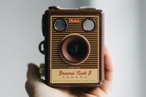 old brownie camera