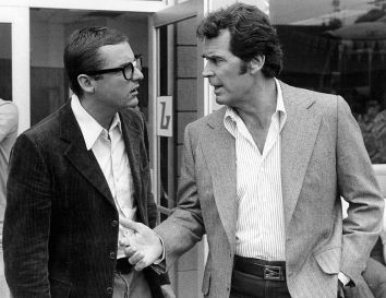 James Garner as PI Rockford (R) in photo still from THE ROCKFORD FILES (image is in public domain)