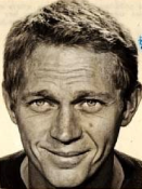Steve McQueen, international drivers license photo (image is in public domain)