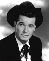 James Garner, 1959, as Bret Maverick, the role that made him famous (image is in public domain)
