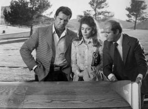 James Garner as Jim Rockford (L) in THE ROCKFORD FILES (image is in public domain)