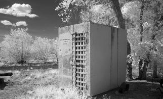 Old Jail Cell on Route 66, Arizona, by Carol Highsmith (photo is in the public domain)